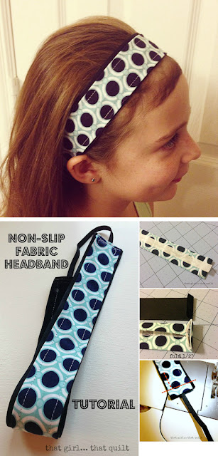 No-slip Fabric Headband Tutorial