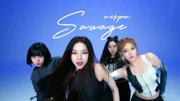 aespa savage lyrics genius