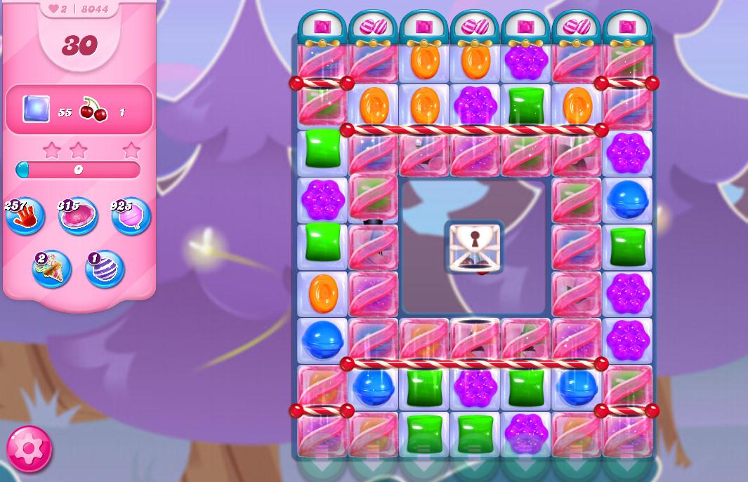 Candy Crush Saga level 8044