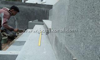 batu andesit untuk tangga