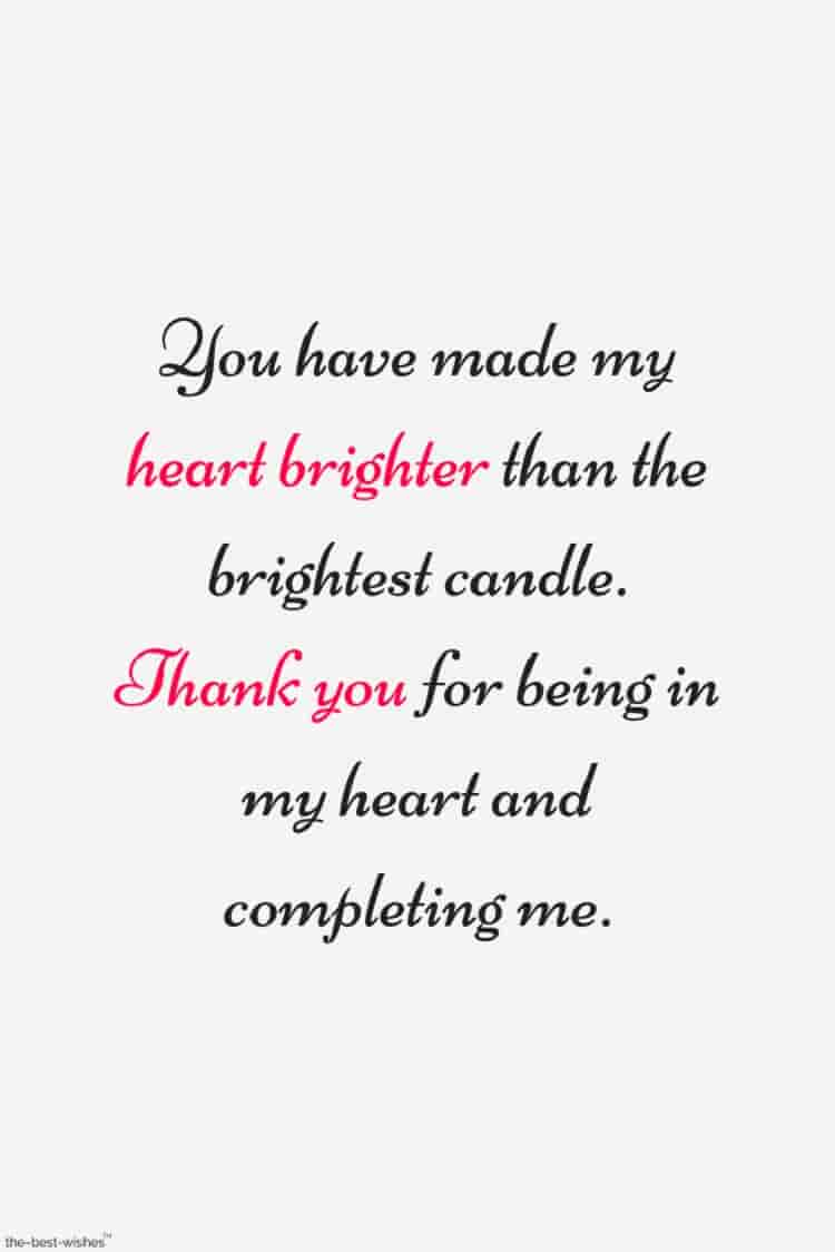 thank you love quote for bf