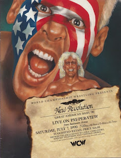 WCW Great American Bash 1990 - Event poster