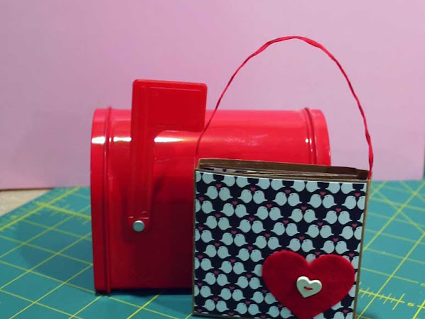 Valentine's Day Card Pouch and Mini Cards