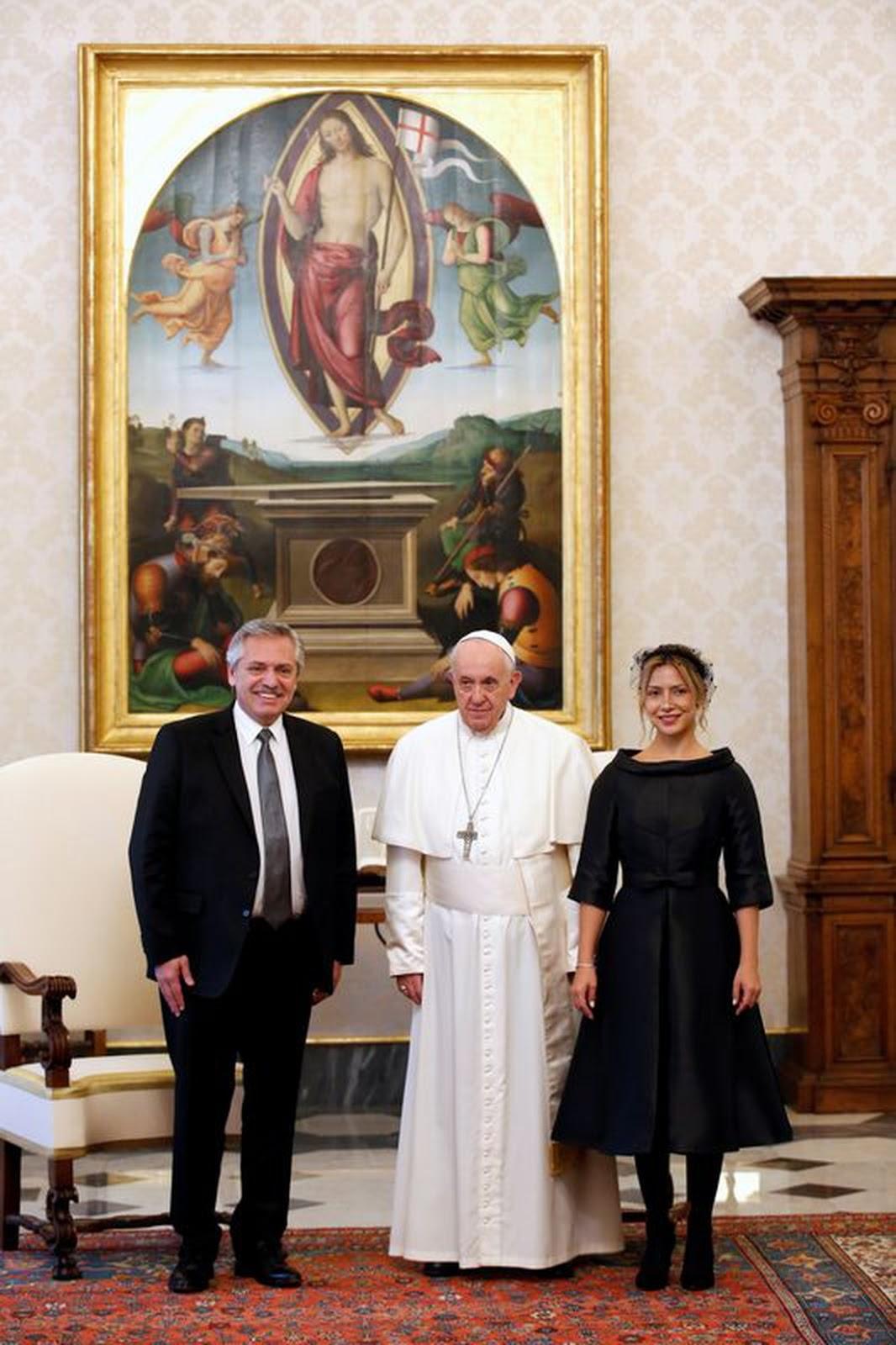 Francisco, y el presidente argentino