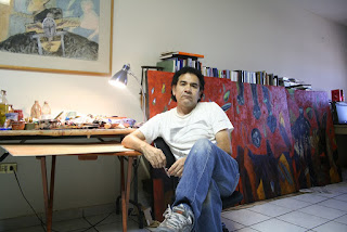 Alejandro Mojica Diaz pintor mexicano