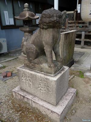 淀川天神社狛犬