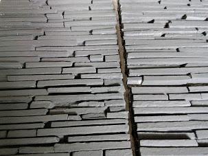 Membuat Model Batu Alam Susun Sirih Bali