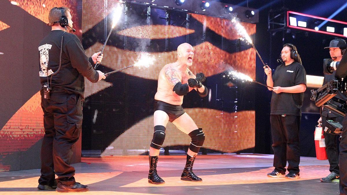 Gillberg faz seu retorno a WWE