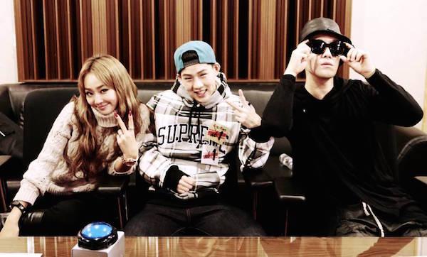 Hyorin, San E y Joo Heon colaboran en Coach Me