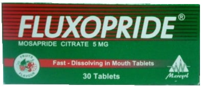 سعر ودواعي استعمال اقراص فلاكسوبرايد fluxopride لعسر الهضم