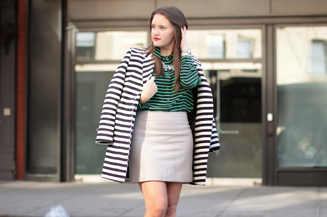 covering the bases blog, covering bases, krista robertson, southern shopaholic, how to pair stripes, chic style