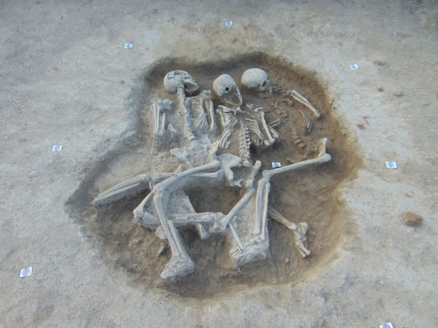 Triple Copper Age burial discovered in Croatia