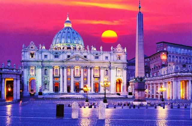 Visite as quatro basílicas papais em Roma