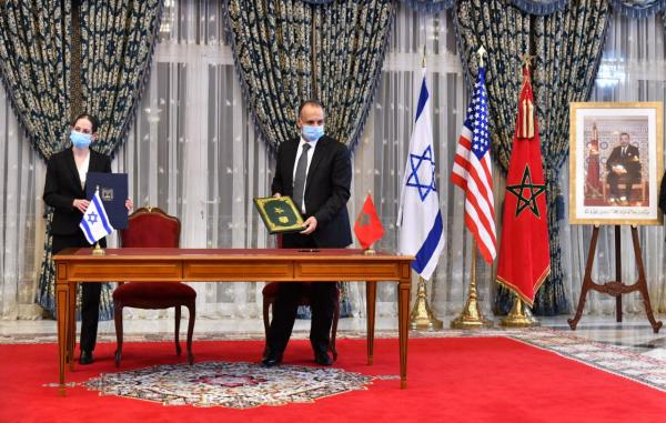 المملكة المغربية ودولة إسرائيل توقعان أربع اتفاقيات .. التفاصيل