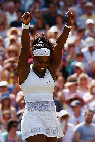 Serena Williams won Wimbledon