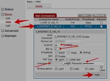 BSNL Broadband FTTH ONT Configuration of Huawei Modem