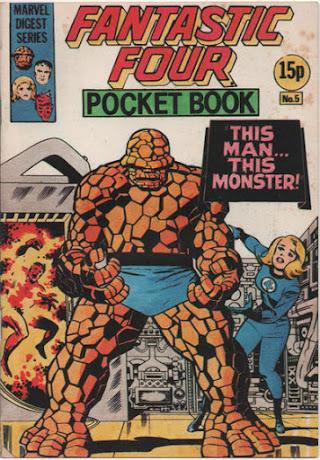 Fantastic Four Pocket Book #5