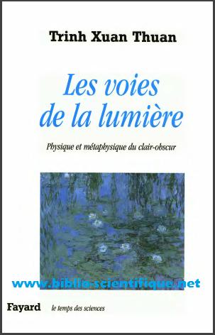 Livre : Les voies de la lumière - Physique et métaphysique du clair-obscur