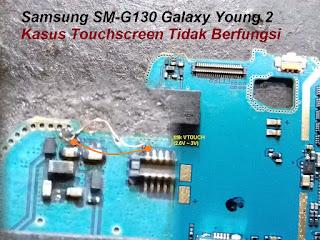 Jalur Touchsreen Samsung G130H
