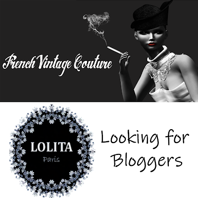 French Vintage Couture & Lolita Paris looking for bloggers / French Vintage Couture et Lolita Pa