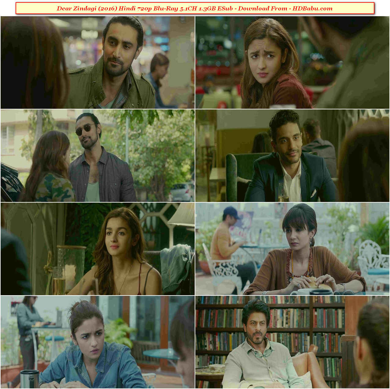 Dear Zindagi Movie Download