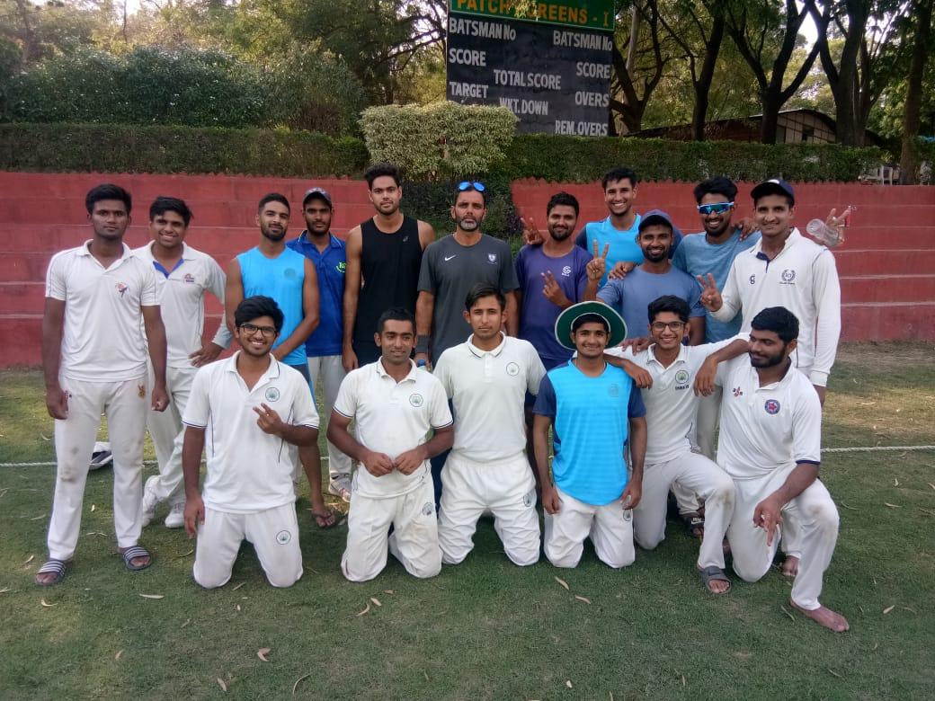 क्रिकेट एसोसिएशन ऑफ एन सी आर गुड़गांव टीम ने रेवाड़ी टीम को 6 विकेट से हराया