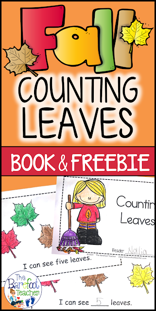 Count & color leaves with a fun emergent reader that will enhance the other fall lessons, activities, and crafts you have planned for your kids. A great way to tie in math and color words practice. Plus, get a FREE download!