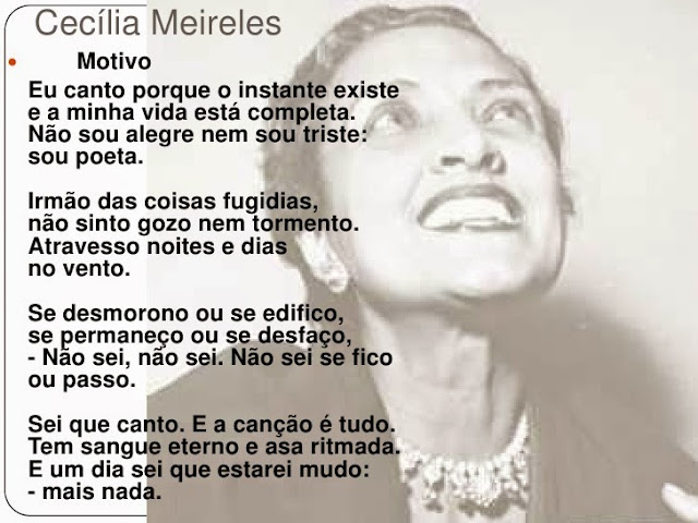 Image result for motivo cecilia meireles