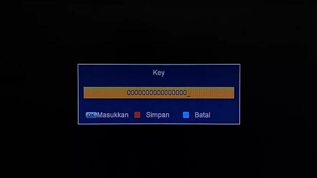 cara input bisskey secara manual tanpa aplikasi