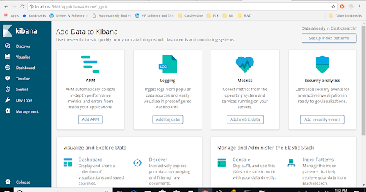 Running analytics on application events and logs using Elasticsearch, Logstash and Kibana