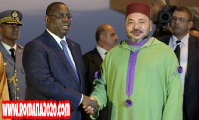الملك محمد السادس يستقبل شكر الرئيس السنغالي على مبادرته لمواجهة فيروس كورونا المستجد covid-19 corona virus كوفيد-19