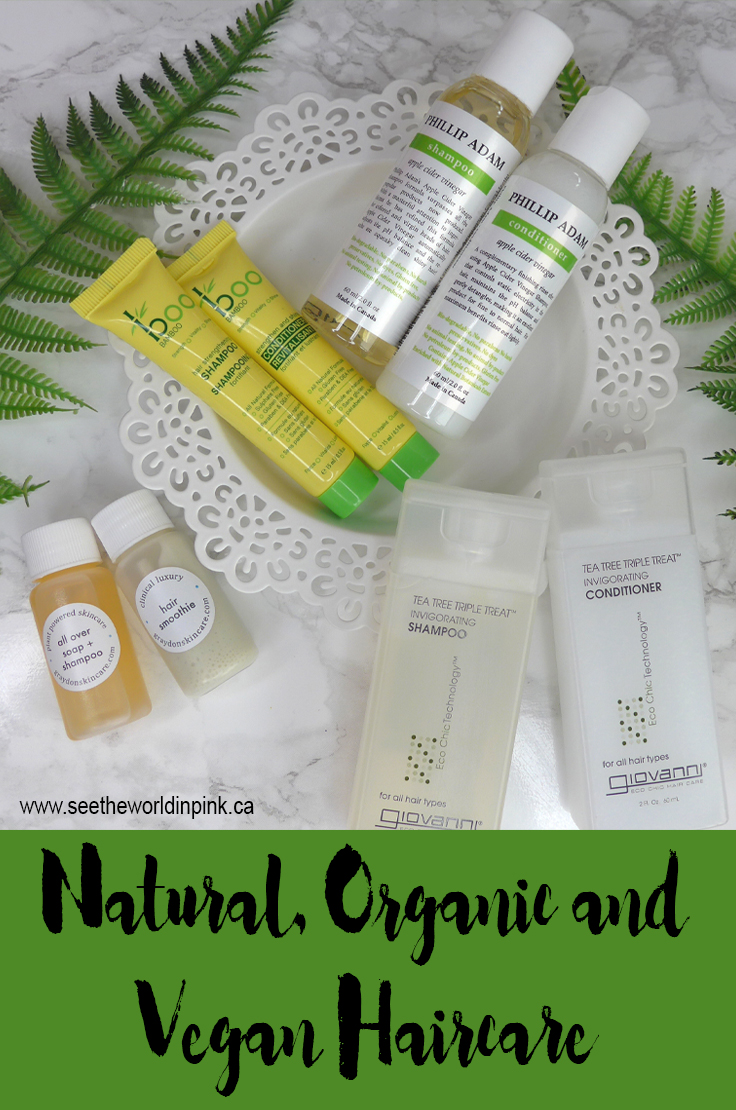Natural, Organic, Vegan (and Mostly Canadian) Shampoos and Conditioners!
