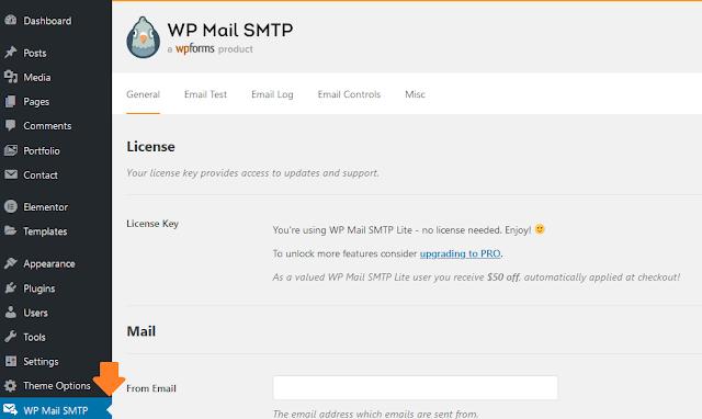 How To Configure WP Mail SMTP For Sendinblue Mailer - WordPress 1