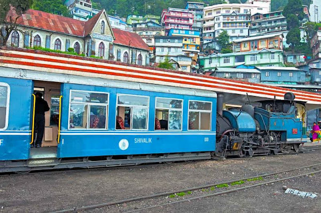 Old Steam Train in Darjeeling
