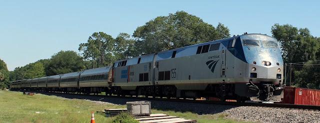 Amtrak a su paso por Satsuma