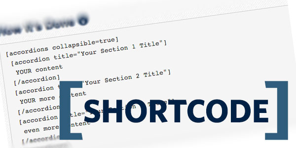 How to create shortcode from A to Z