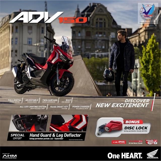 Program Penjualan Sepeda Motor Honda Terbaru September 2019