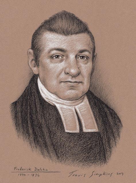 Frederick Dalcho, 33°. Past Sovereign Grand Commander. Scottish Rite, SJ. by Travis Simpkins
