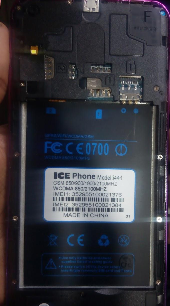 ICE PHONE i444 FLASH FILE MT6580 FIRMWARE