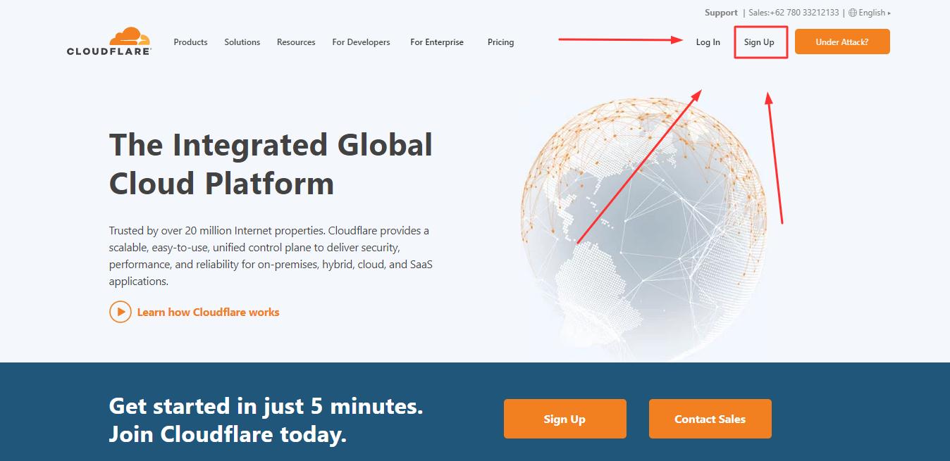 situs cloudflare