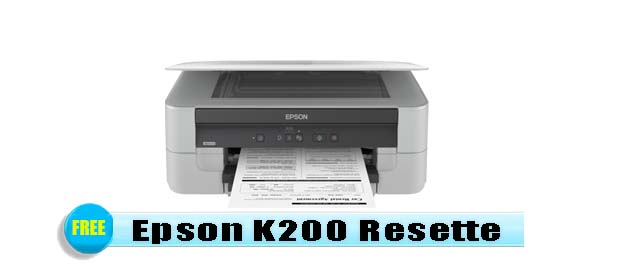 Epson K200 Adjustment Program