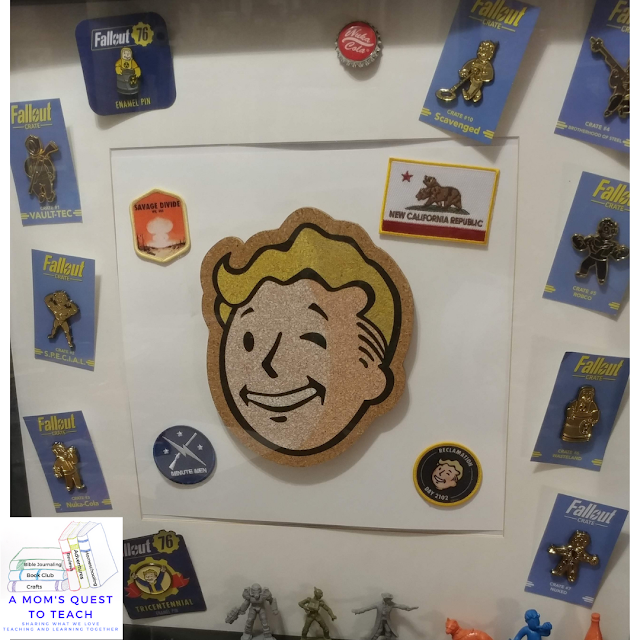 A Mom's Quest to Teach logo, Fallout Collectables
