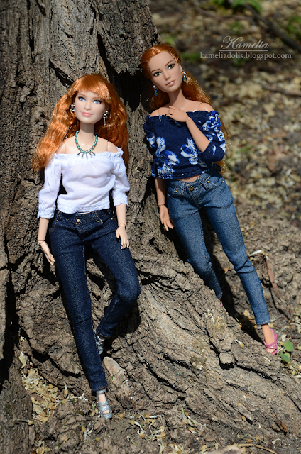 Sewing jeans for dolls