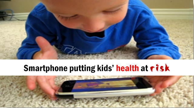 Excessive use of smartphone putting kids' health at risk