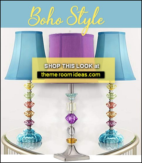 boho table lamp boho decor boho bedroom furniture