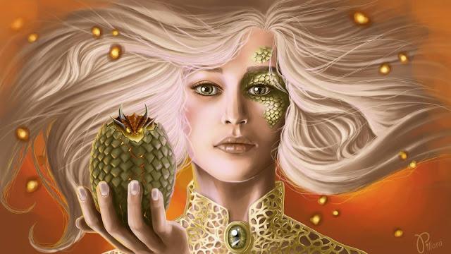 Blonde Daenerys Targaryen Emilia Clarke  (Digital Art)  4k Ultra HD Wallpaper