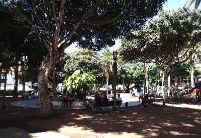 Imágenes de la Plaza del Charco, en el Puerto de la Cruz