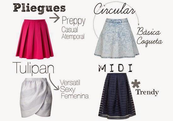 ¿Qué tipos de faldas usar si soy gordita?