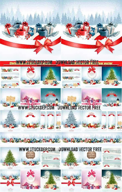 Download free Christmas and New Year vector, holiday background, vector noel giáng sinh